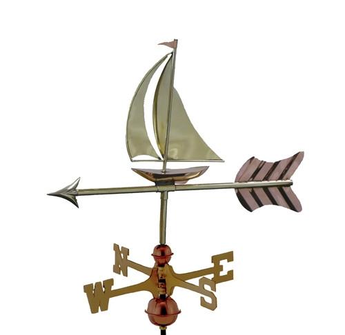 Small Sailboat Weathervane 1