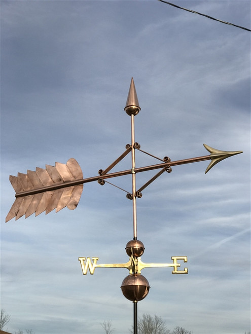"60"" Reinforced Arrow Weathervane"