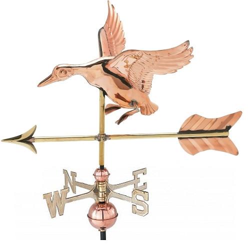 Small 3-D Duck Weathervane
