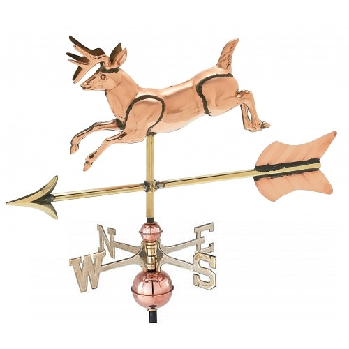 Small 3-D Deer Weathervane