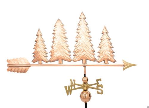 Four Pine Trees Weathervane