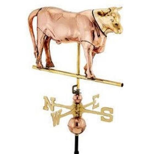 Full Bodied Bull Weathervane