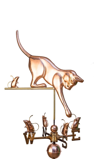 Cat and Mice Weathervane