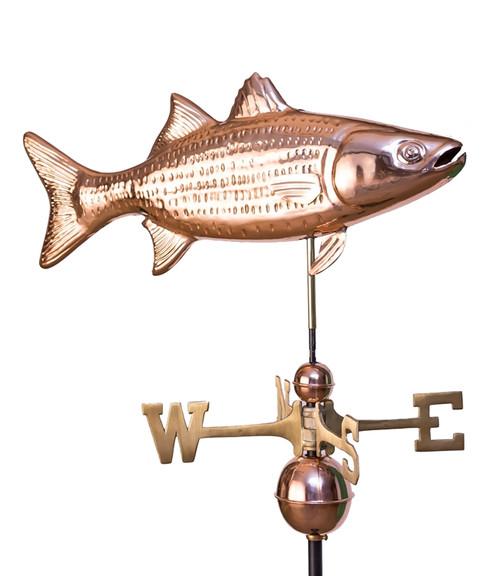 Striped Bass Weathervane 1