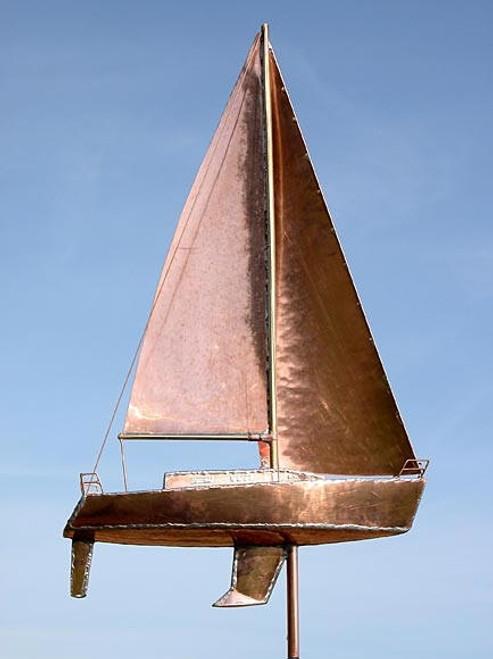 J Boat Weathervane