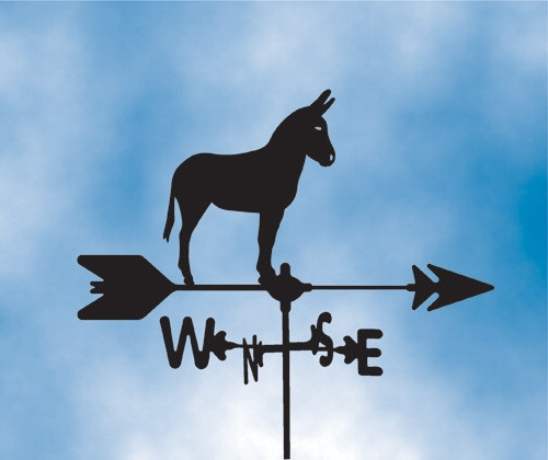 Donkey Weathervane