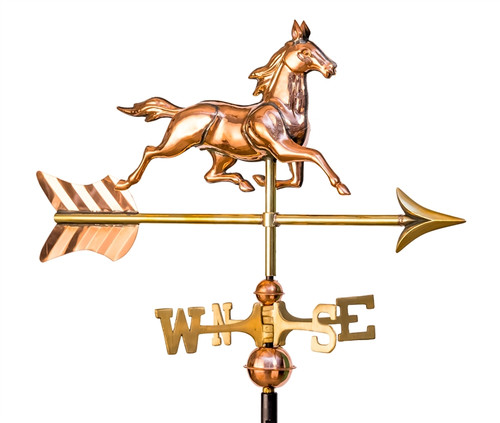 Small 3-D Horse Weathervane