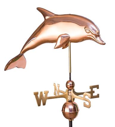 Dolphin Weathervane 2 At Weathervanes Of Maine