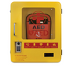 Heated Outdoor Metal AED Wall Cabinet (2105) with mediana
