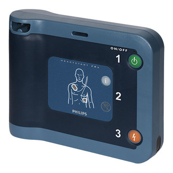 Philips Heartstart FRx semi-automatic AED with free accessories (861304-ABU)