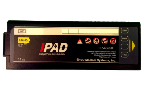 Battery, Disposable Li-ion for IPAD NF1200 AED