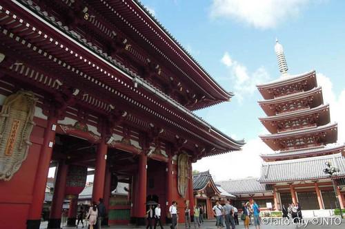 Asakusa Sensoji Temple, Tokyo