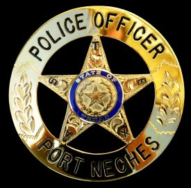 Police Circle Star Badge