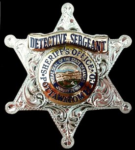 Engraved Police Badge