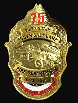 Firefighter Badge South Salt Lake