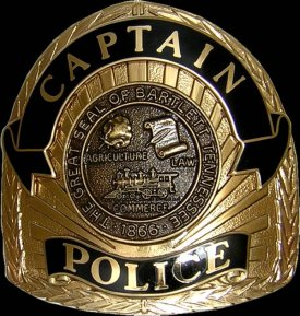 Police Cap Pieces