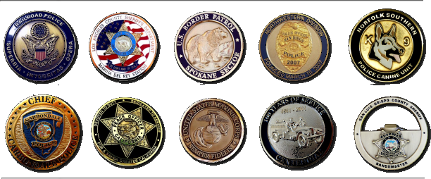 Challenge coins by Lawman Badge Company