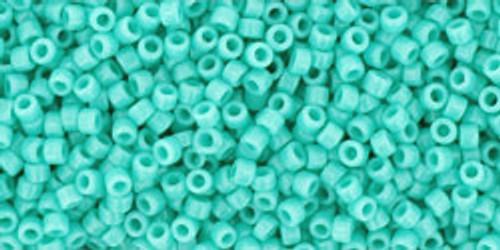 Toho Seed Beads 15/0 Round #7 Opaque Turquoise 50 gram