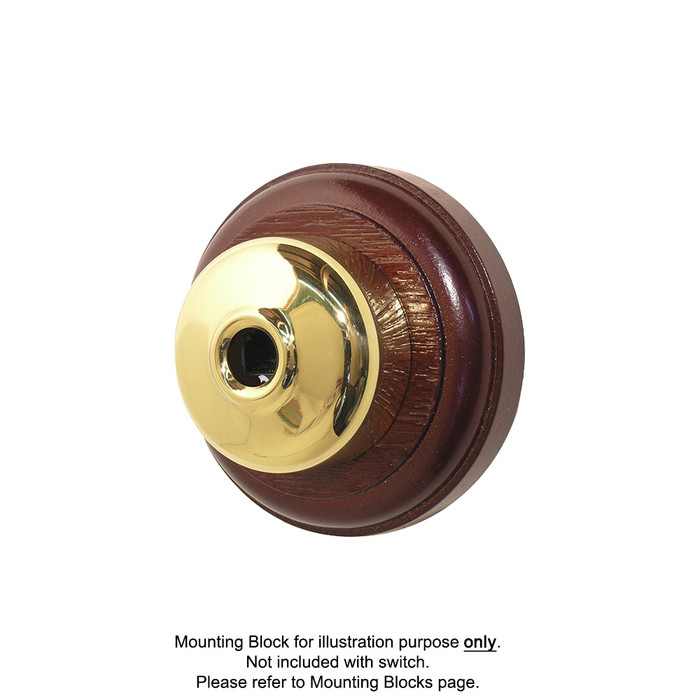 Old Heritage Clipsal Classic Data Socket Smooth Covered - Brass