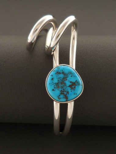 Authentic Native American Turquoise Bracelet by Leroy Begay
