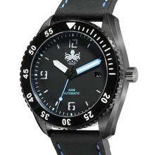 PHOIBOS REEF MASTER PY015B DLC 300M Automatic Diver Watch Blue