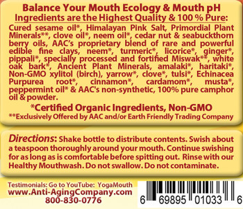 Gum Disease and Gum Recession - Organic Detox & Oil Pulling - Free USA Shipping