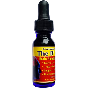 "Trace Minerals - Fulvic Minerals - The ""B3"" Concentrated Alkalizing Trace Mineral Drops (Blood, Brain, Body)- Free USA Shipping - 2 to 3 Month Supply"