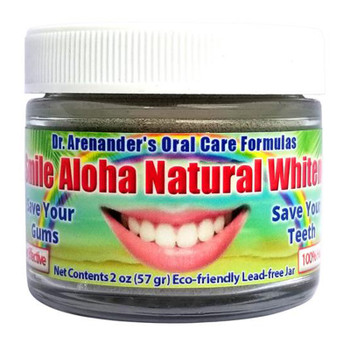 Aloha Organic Teeth Whitening Powder - Activated Charcoal – It Works! - Free USA Shipping