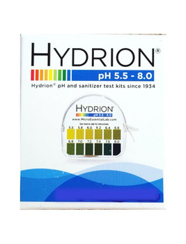 pH Hydrion Paper Tests -- Avoid Acidic Mouth & Body