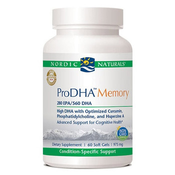 Best Omega-3s for Brain Health - ProDHA Memory by Nordic Naturals, Quality Fish Oil
