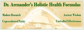 Dr. Arenander's Holistic Health Formulas