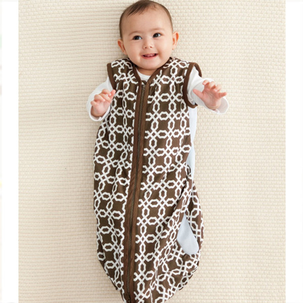 Skip Hop Choco Lattice - Wearable Blanket-2