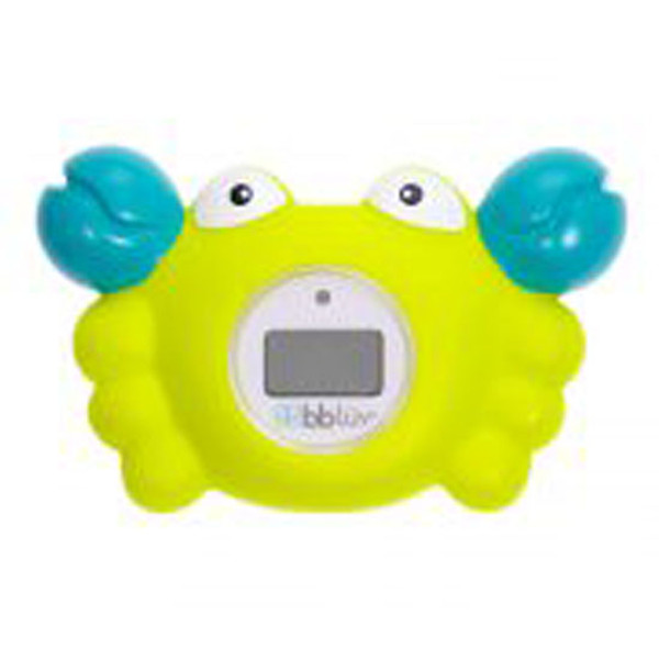 BBLuv Krab 3-in-1 Thermometer & Bath Toy - Celsius-2
