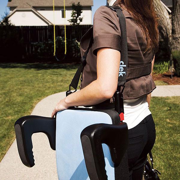 Clek Olli Booster Seat - Jet Shadow -3
