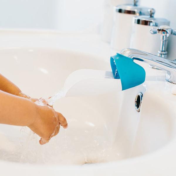 Prince Lionheart faucetEXTENDER - Pink & Grey-3