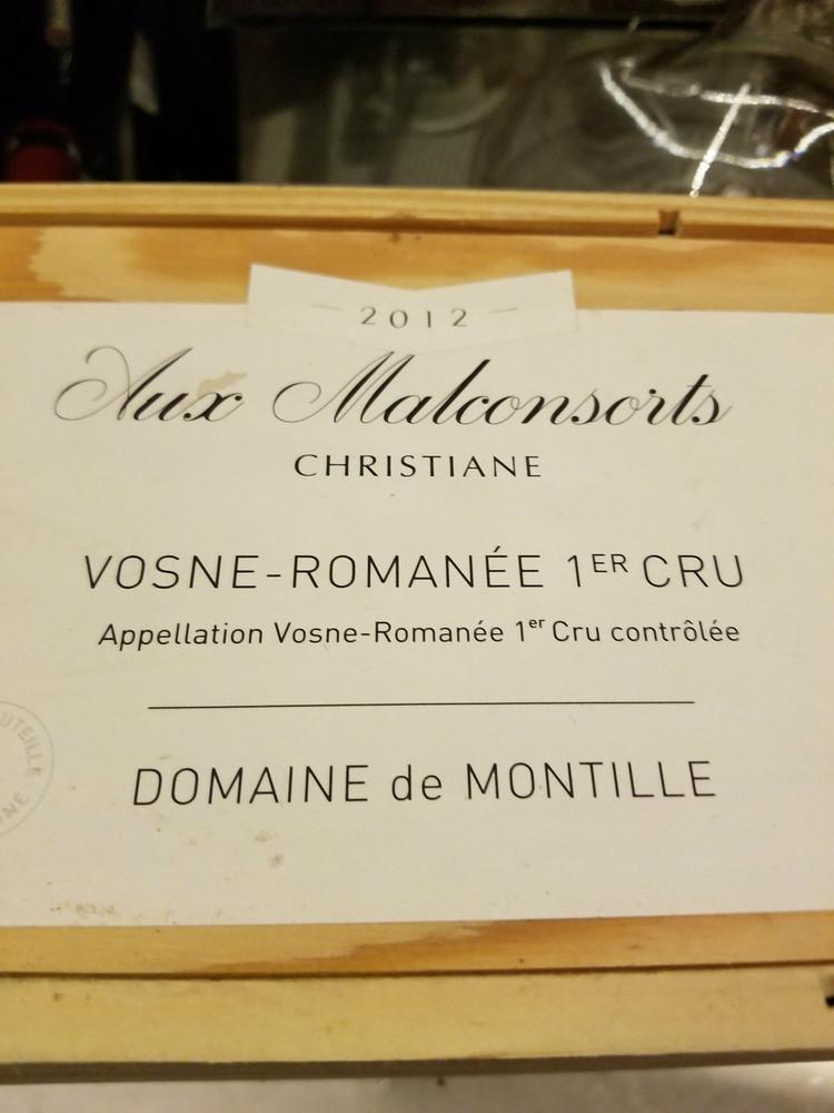 Domaine de Montille Vosne Romanee Les Malconsorts Cuvee Christiane 1er Cru 2010 3000ml