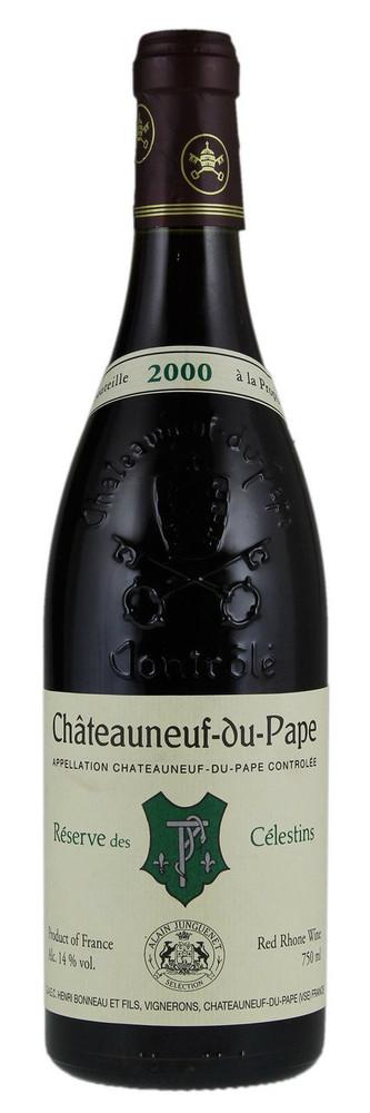 Henri Bonneau Chateauneuf-du-Pape Reserve des Celestins 2000 750ml