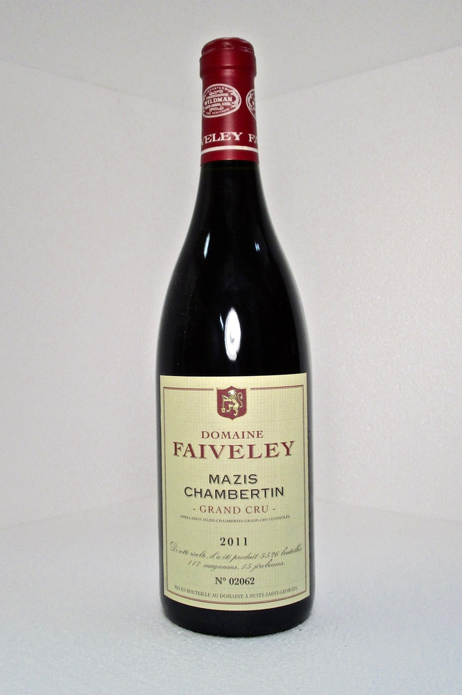 Domaine Faiveley Mazis-Chambertin Grand Cru 2011 750ml