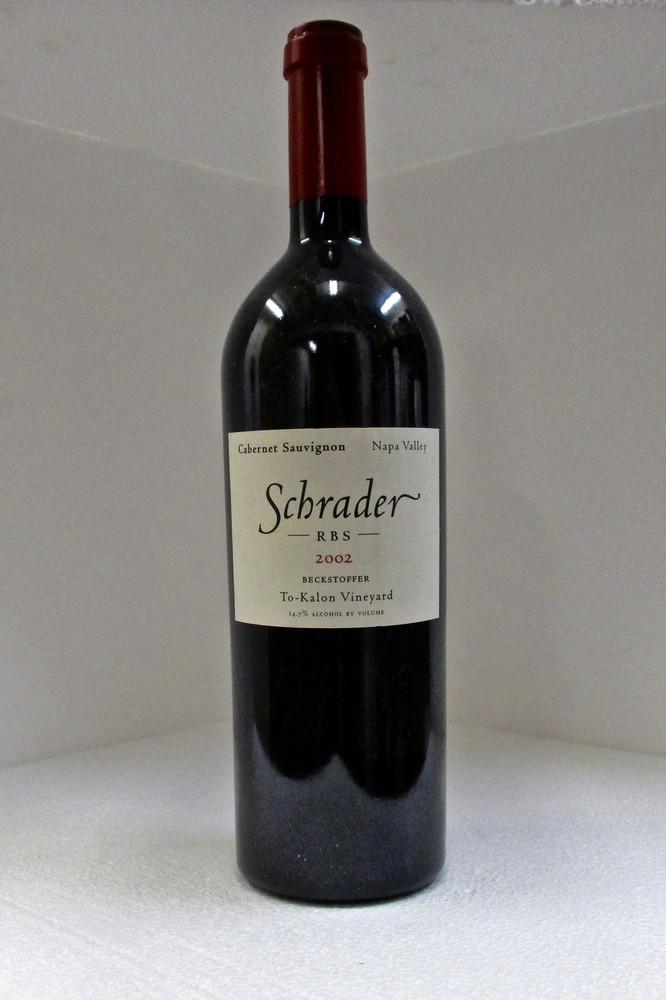 Schrader RBS Beckstoffer To Kalon Vineyard 2002 750ml