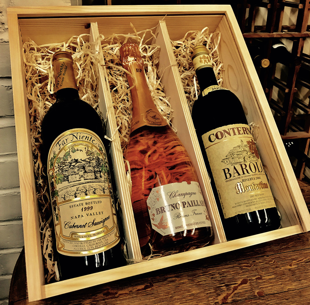 Corporate and Holiday Gifting with Estate Wine Brokers