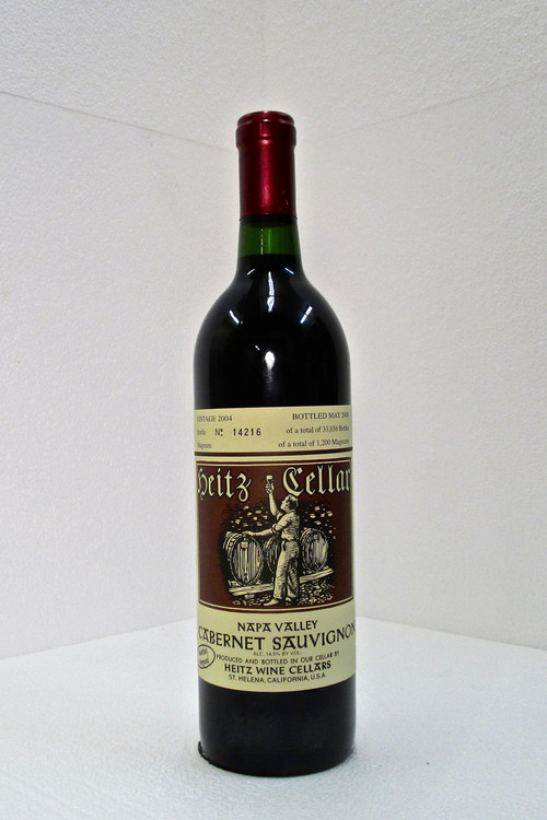 Heitz Cellar Cabernet Sauvignon Martha's Vineyard 2004 750ml