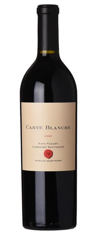 Nicholas Allen Wines Carte Blanche Cabernet Sauvignon 2008 750ml