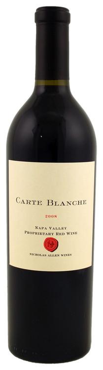 Nicholas Allen Wines Carte Blanche Proprietary Red 2008 750ml