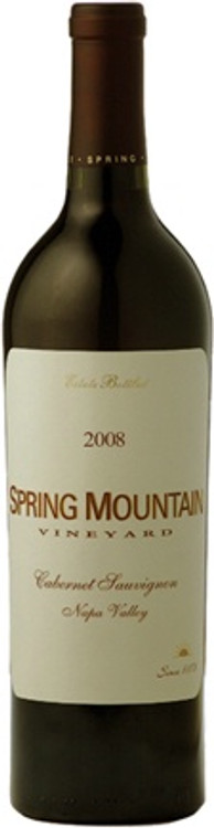 Spring Mountain Vineyard Cabernet Sauvignon Napa Valley 2008 750ml
