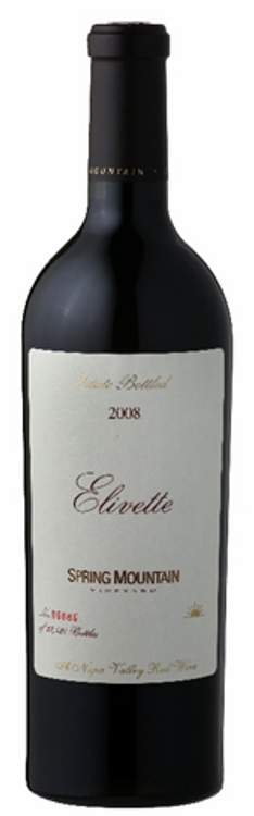 Spring Mountain Vineyard Elivette Proprietary Red 2008 750ml
