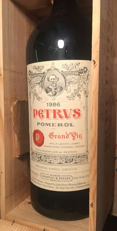 Petrus 1986 6000ml in OWC