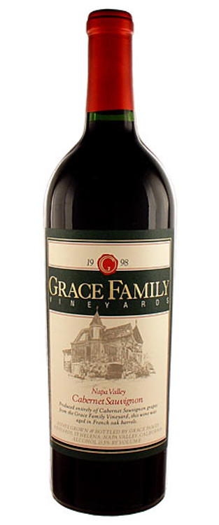 Grace Family Vineyards Cabernet Sauvignon Napa Valley 1989 750ml