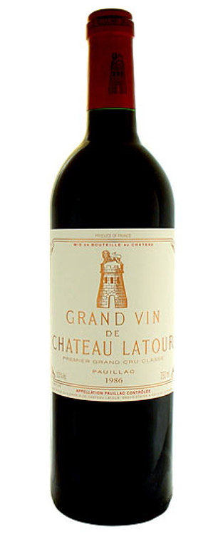 Latour 1986 750ml (Damp Stained Label)