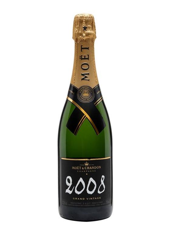 Moet & Chandon Grand Vintage Brut Champagne 2008 750ml