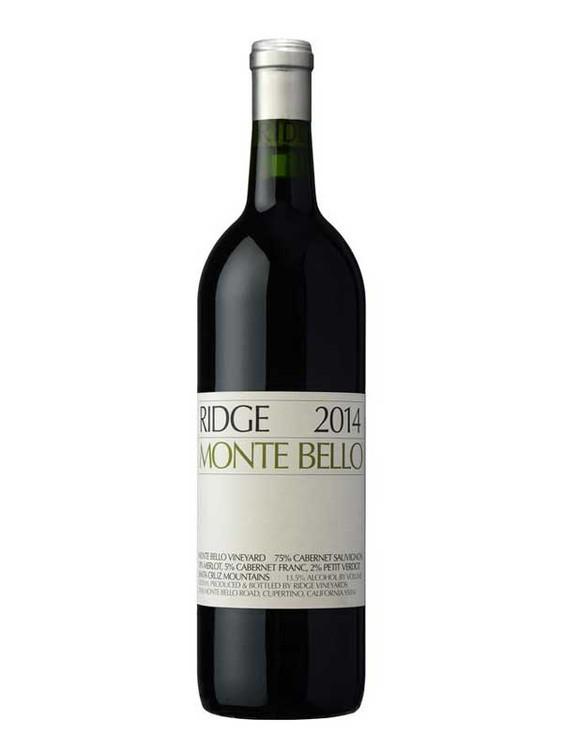 Ridge Monte Bello 2015 750ml
